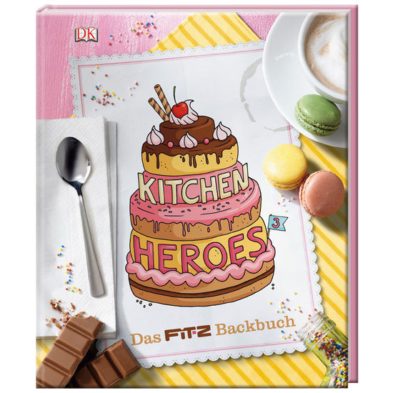 Kitchen Heroes, Teil 3 - Das FIT-Z Backbuch